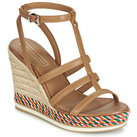 Shoes Women Sandals Tommy Hilfiger VANCOUVER 7A Cognac