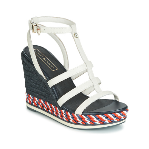Shoes Women Sandals Tommy Hilfiger VANCOUVER 7A White