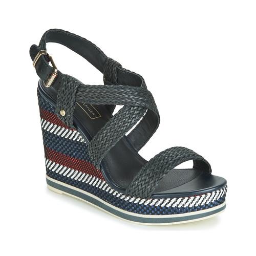 Shoes Women Sandals Tommy Hilfiger VANCOUVER 9Y Marine