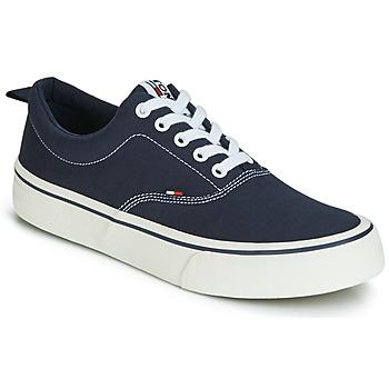 Shoes Men Low top trainers Tommy Jeans VIRGIL 1D Black