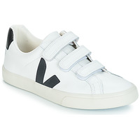 Shoes Women Low top trainers Veja 3-LOCK LOGO White / Black