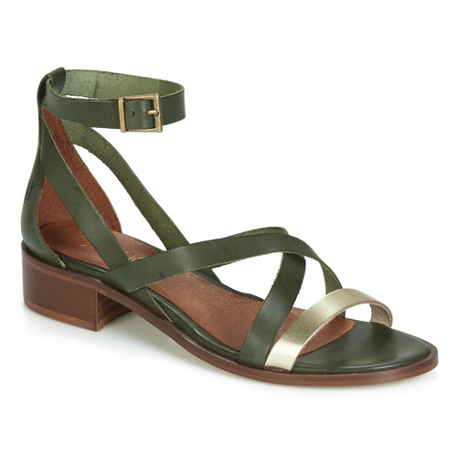 Shoes Women Sandals Casual Attitude COUTIL Green