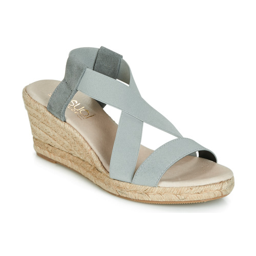 Shoes Women Sandals Casual Attitude JALAYEBE Grey