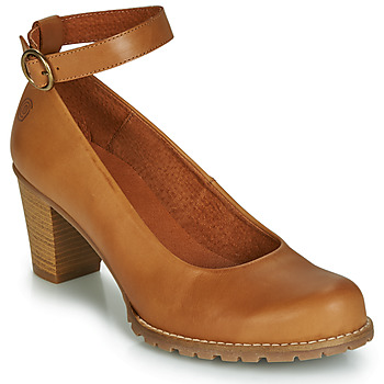 Shoes Women Heels Casual Attitude JALAYELE Camel