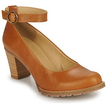 Shoes Women Heels Casual Attitude JALAYELE Camel