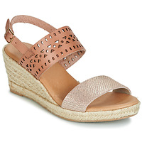 Shoes Women Sandals Casual Attitude JALAYI Pink / Gold