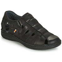 Shoes Men Sandals Casual Attitude JALAYIME Black