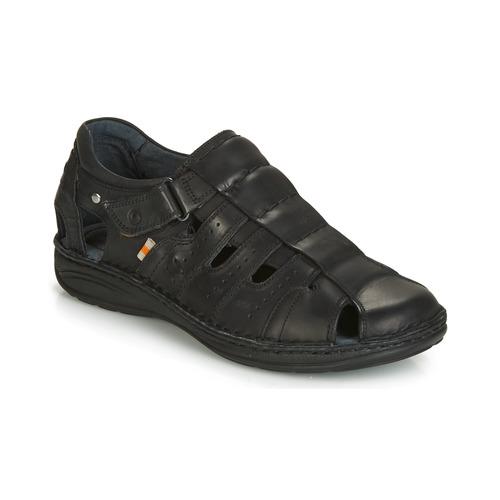 Shoes Men Sandals Casual Attitude JALAYIME Black