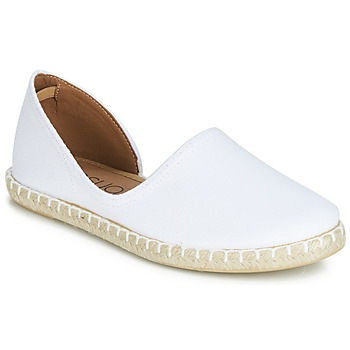 Shoes Women Espadrilles Casual Attitude JALAYIVE White