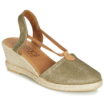 Shoes Women Espadrilles Casual Attitude JALAYIBE Kaki