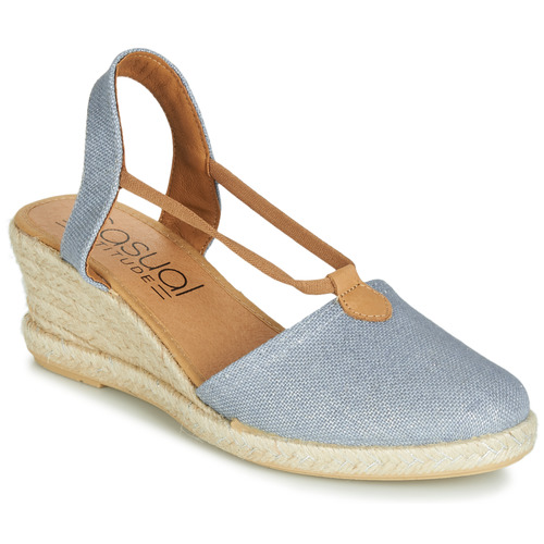 Shoes Women Sandals Casual Attitude JALAYIGE Blue