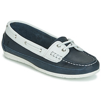 Shoes Women Boat shoes Casual Attitude JALAYIXE Marine / White