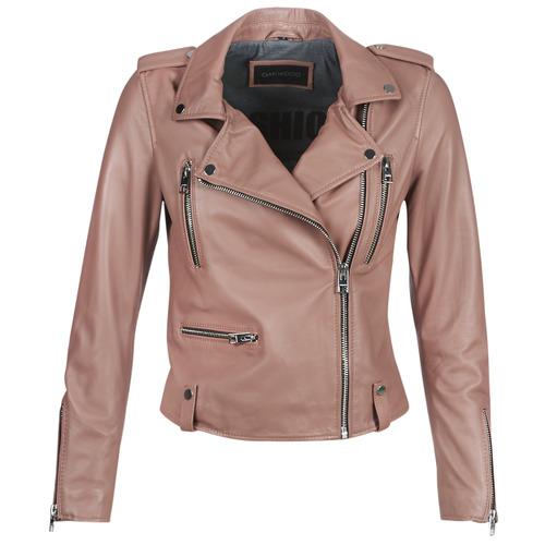 Clothing Women Leather jackets / Imitation leather Oakwood NIGHT Old / Pink