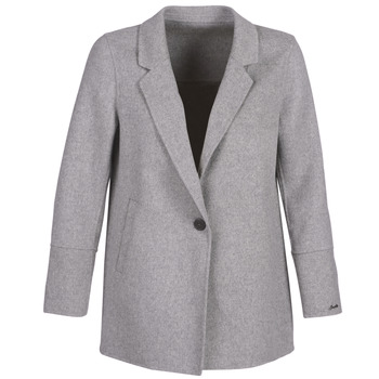 Clothing Women Jackets / Blazers Oakwood OSLO Grey / Clear