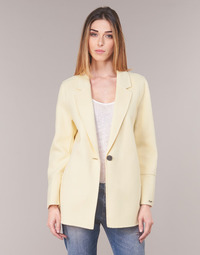 Clothing Women Jackets / Blazers Oakwood OSLO Yellow / Clear