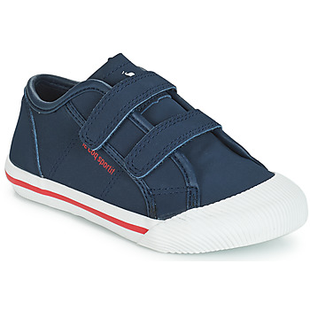 Shoes Children Low top trainers Le Coq Sportif DEAUVILLE-INF WINTER SPORT Blue