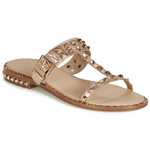 Shoes Women Mules Ash PRINCE Gold