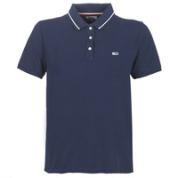 Clothing Women short-sleeved polo shirts Tommy Jeans TJW TOMMY CLASSICS POLO Marine