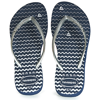 Shoes Women Flip flops Havaianas SLIM OCEANO Navy