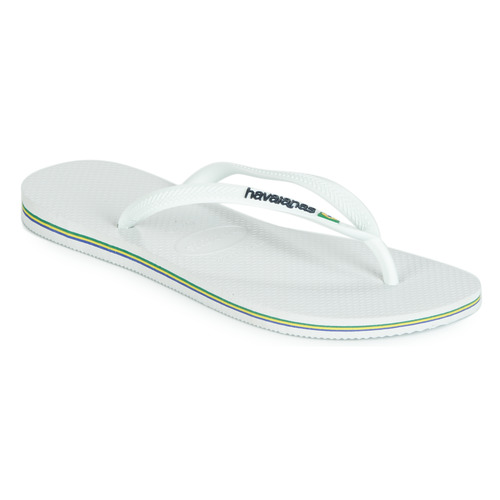 Shoes Women Flip flops Havaianas SLIM BRASIL LOGO White