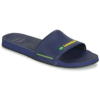 Shoes Men Sliders Havaianas SLIDE BRASIL Navy