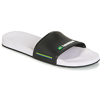 Shoes Men Tap-dancing Havaianas SLIDE BRASIL White black