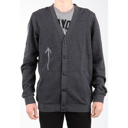 Clothing Men Jackets / Cardigans Reebok Sport Bas Revenge SS Black K11904 grey