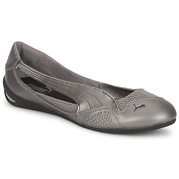 Shoes Women Flat shoes Puma WINNING DIVA BLING SILVER