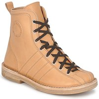 Shoes Women Mid boots Swedish hasbeens VINTAGE BOWLING BOOT Beige