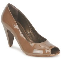 Shoes Women Heels Espace LEON Brown
