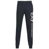 Clothing Men Tracksuit bottoms Emporio Armani EA7 TRAIN LOGO SERIES Marine