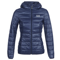 Clothing Women Duffel coats Emporio Armani EA7 TRAIN CORE LADY LT DOWN JACKET Marine