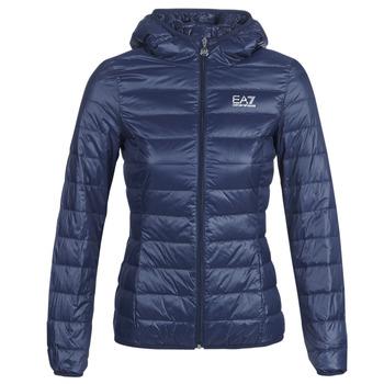 Clothing Women Duffel coats Emporio Armani EA7 TRAIN CORE LADY LT DOWN JACKET Marine