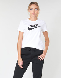 Clothing Women short-sleeved t-shirts Nike NIKE SPORTSWEAR White