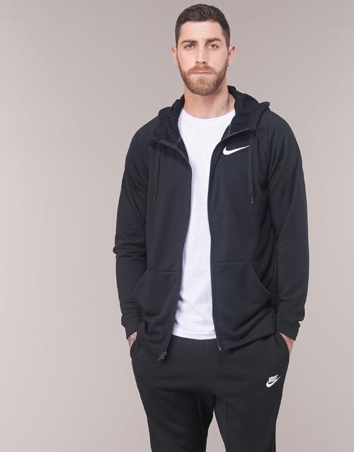 Clothing Men sweaters Nike MEN'S NIKE DRY TRAINING HOODIE Black