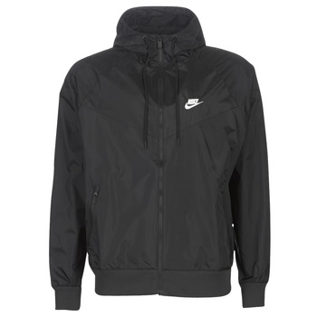 Clothing Men Macs Nike NIKE SPORTSWEAR WINDRUNNER Black