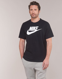 Clothing Men short-sleeved t-shirts Nike NIKE SPORTSWEAR Black