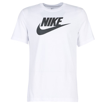 Clothing Men short-sleeved t-shirts Nike NIKE SPORTSWEAR White