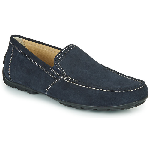 Shoes Men Loafers Geox MONET Blue