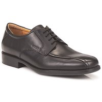 Shoes Men Derby Shoes Geox FEDERICO LUX Black