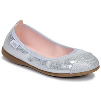 Shoes Girl Flat shoes Citrouille et Compagnie JARAMIL Silver