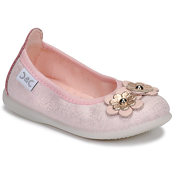 Shoes Girl Flat shoes Citrouille et Compagnie JATAMAL Pink