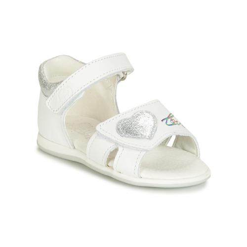 Shoes Girl Sandals Citrouille et Compagnie JAFALGA White