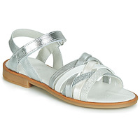 Shoes Girl Sandals Citrouille et Compagnie JARILOU Silver