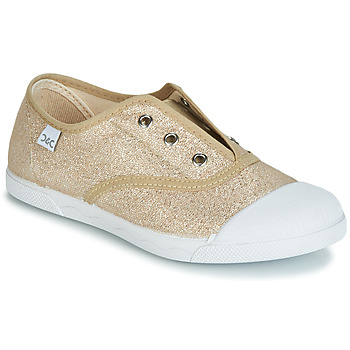 Shoes Girl Low top trainers Citrouille et Compagnie JANOLIRE Gold