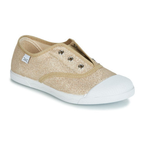 Shoes Girl Low top trainers Citrouille et Compagnie RIVIALELLE Gold