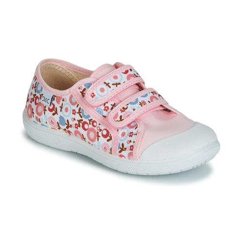 Shoes Girl Low top trainers Citrouille et Compagnie JORIPALE Pink / Red