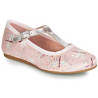 Shoes Girl Flat shoes Citrouille et Compagnie JANETTE Pink / Dragonfly