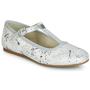 Shoes Girl Flat shoes Citrouille et Compagnie JANETTE Grey / Dragonfly