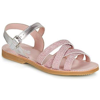 Shoes Girl Sandals Citrouille et Compagnie JARDINA Pink